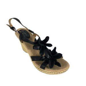 BOC by Born Concept Womens Wedge Sandals Size 9M